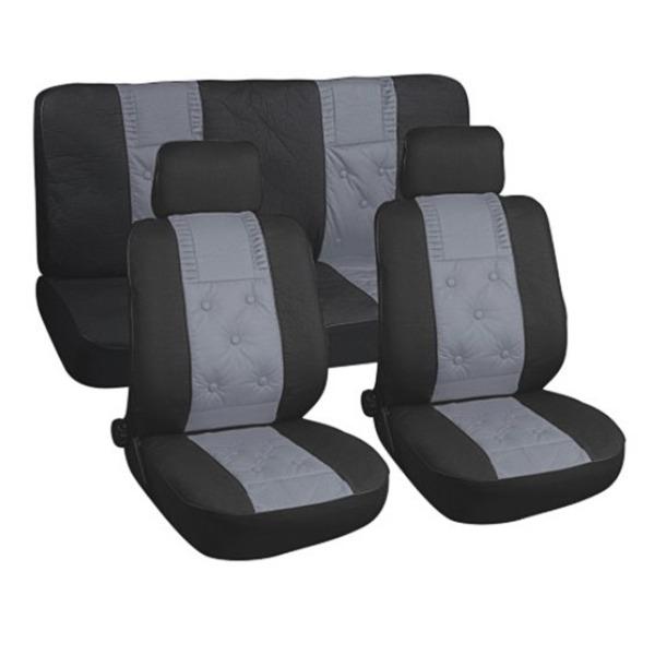 Чехол на сиденье Skyway Sw-101040 bk/gy/s01301032 чехол на сиденье skyway volkswagen polo седан vw1 2k