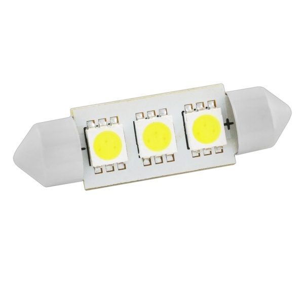 светодиодная лампа t20 bidward 2 x 3 6w 12v 340lm 24 5050 smd Лампа светодиодная Skyway Sj-3smd-5050-36mm