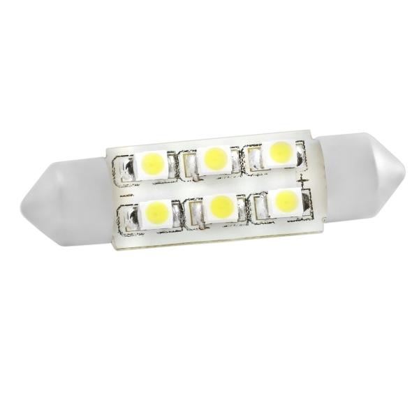 Лампа светодиодная Skyway Rs-1263/sj-6smd-3528-39mm w skyway автолампа диод t11 c5w sj 8smd 5050 39mm sj 0850a
