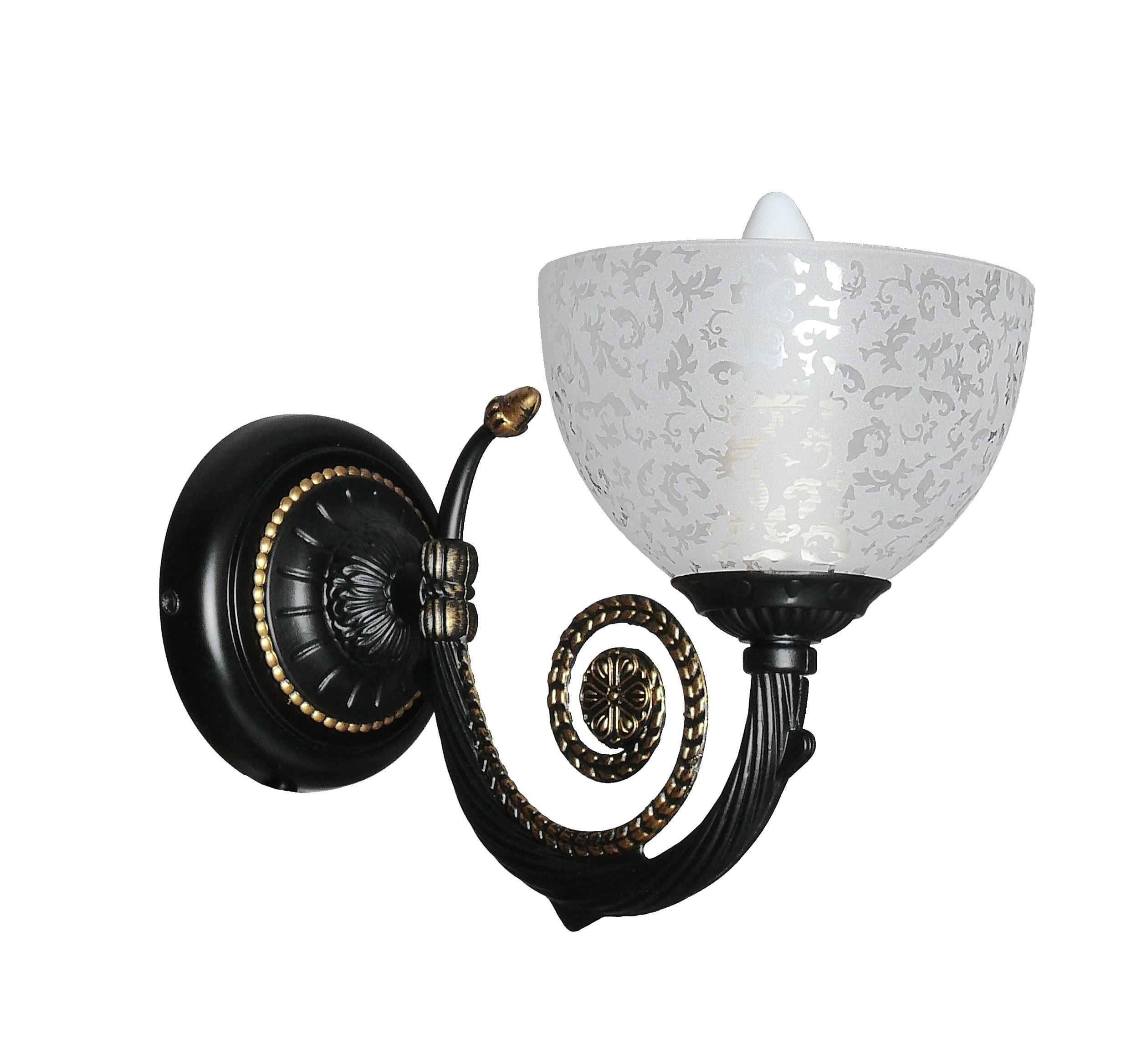 Светильник настенный АВРОРА Барокко 10058-1b светильник настенный аврора лагуна 10023 1b