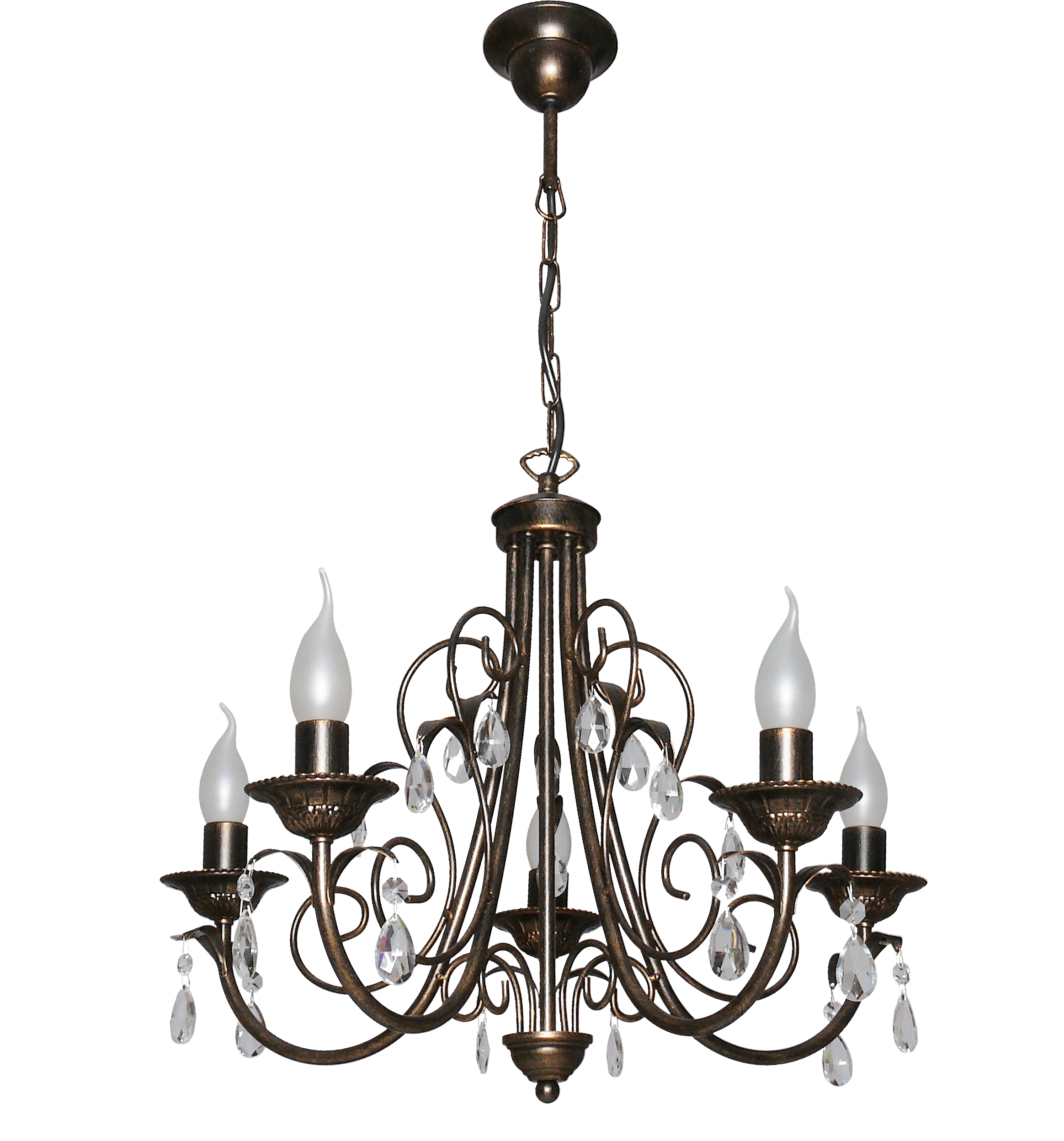 Люстра АВРОРА Муссон 10003-5l люстра lamplandia daria 3х40вт е14 металл темно коричневый