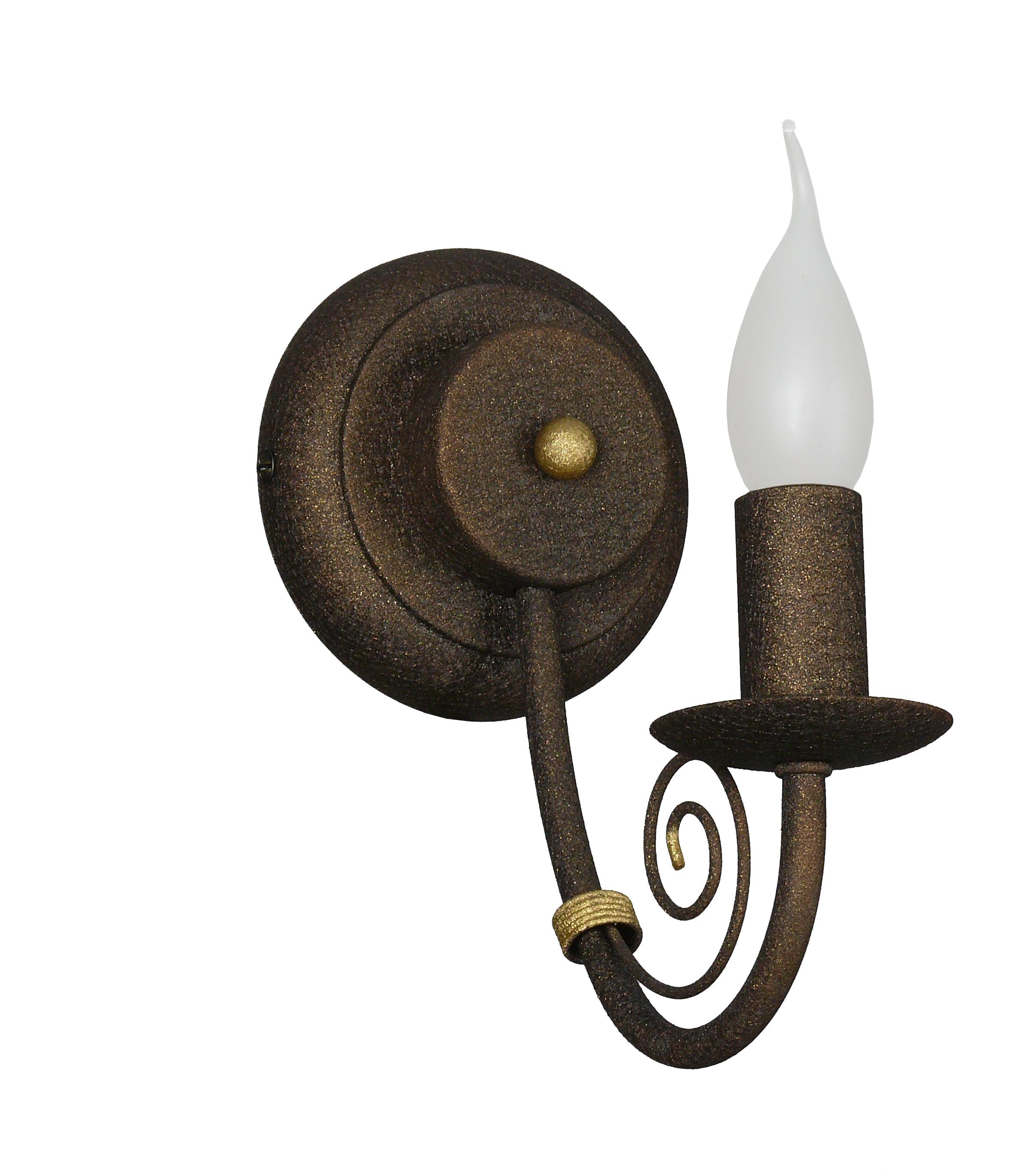 Светильник настенный АВРОРА Марго 10039-1b светильник настенный аврора лагуна 10023 1b