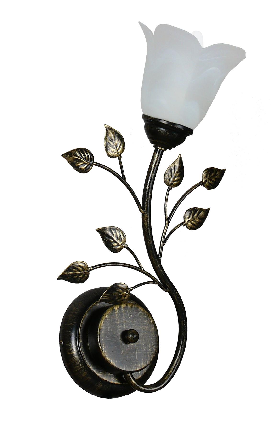 все цены на Светильник настенный АВРОРА Лилия 10020-1b онлайн