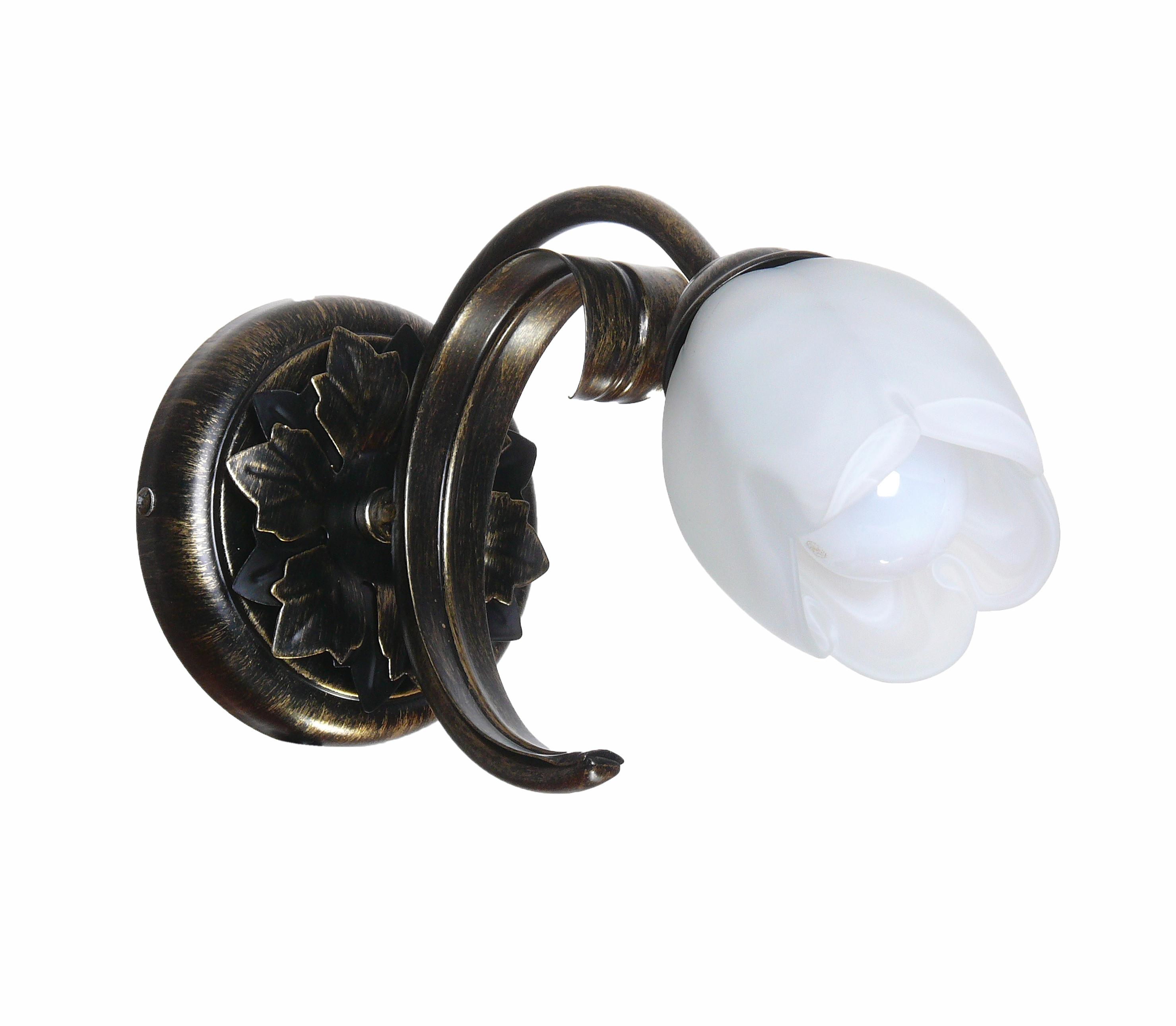 Светильник настенный АВРОРА Флоренция 10114-1b светильник настенный аврора лагуна 10023 1b