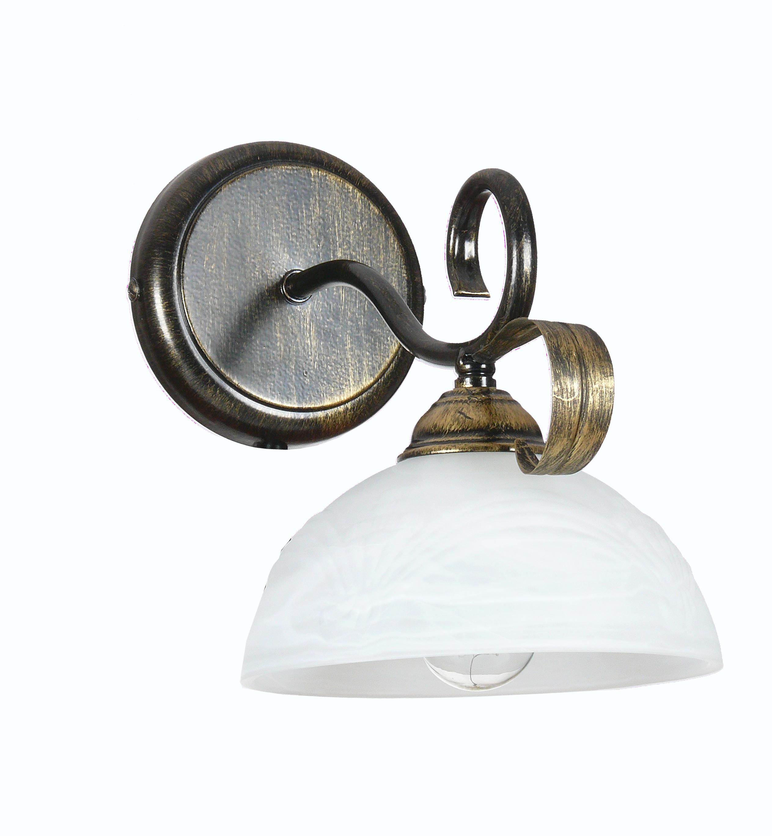 Светильник настенный АВРОРА Прага 10106-1b светильник настенный аврора лагуна 10023 1b