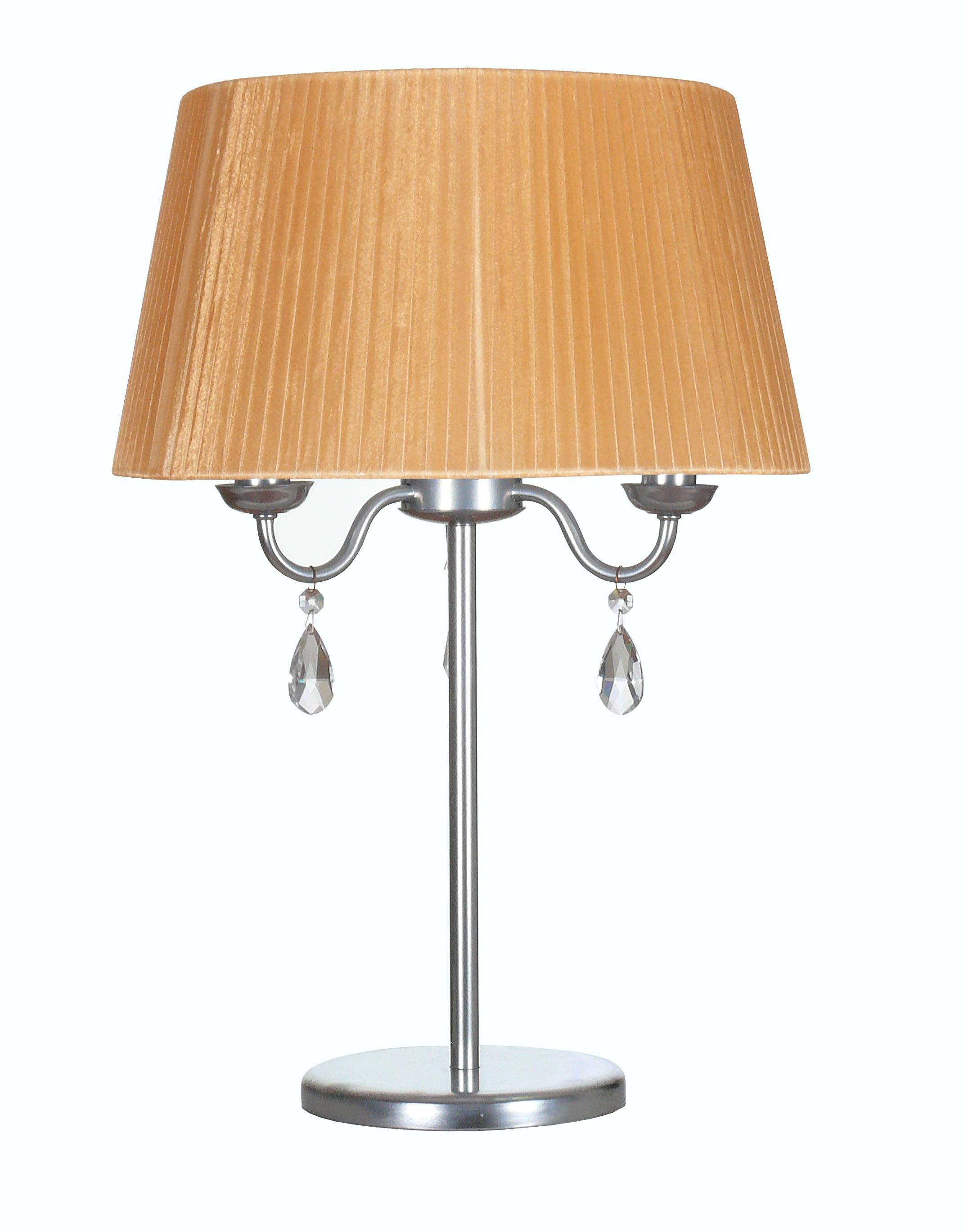 Лампа настольная АВРОРА Адажио 10087-3n ep20k100eqc240 3n