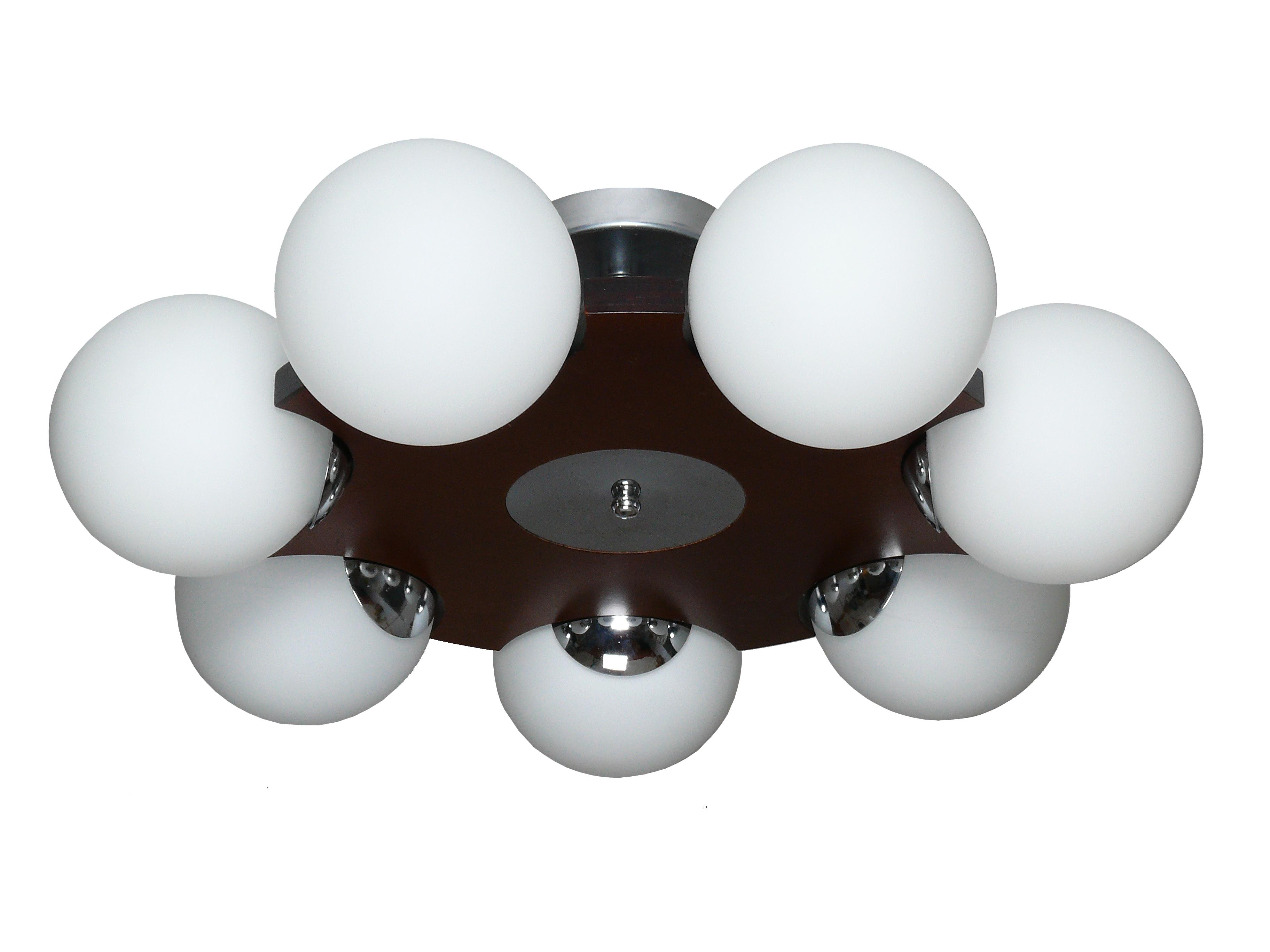 Светильник настенно-потолочный АВРОРА Буйки 10035-7c люстра на штанге аврора буйки 10035 5c