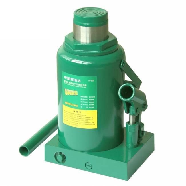 Домкрат Sata 97809 домкрат гидравлический бутылочный kraftool 8т double ram 43463 8
