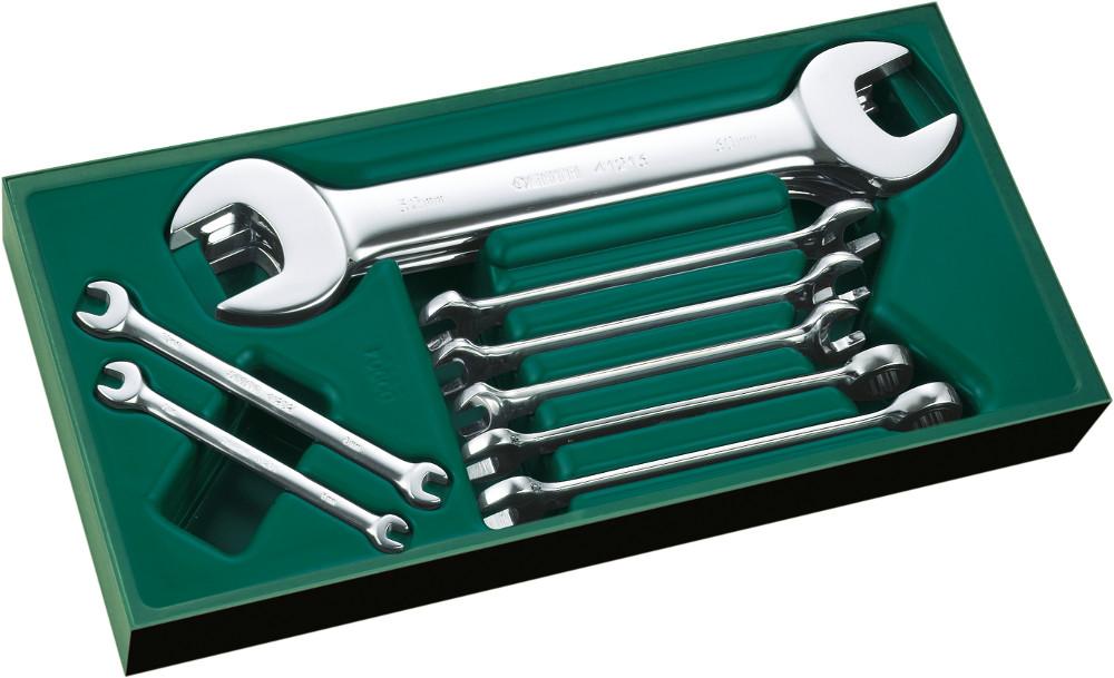 Ключ гаечный Sata 09904 (6 - 27 мм) ключ гаечный sata 41220 27 30 мм