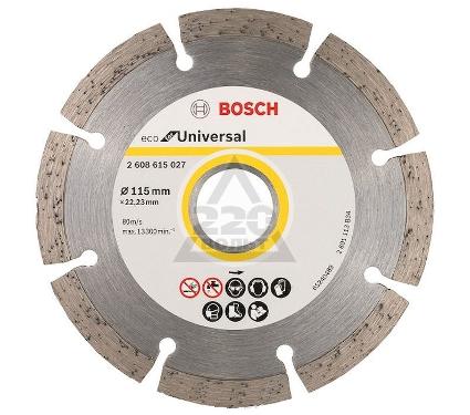 Круг алмазный BOSCH ECO Universal Ф115-22мм (2.608.615.027)