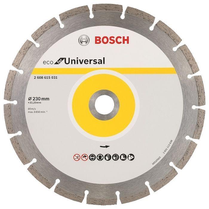 Круг алмазный Bosch Eco universal Ф230-22мм (2.608.615.031)