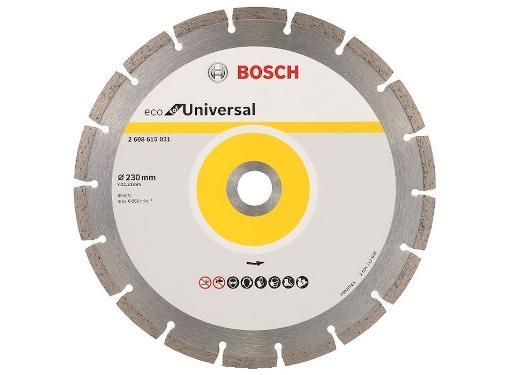 Круг алмазный BOSCH ECO Universal (2608615031) Ф230х22мм универсальный