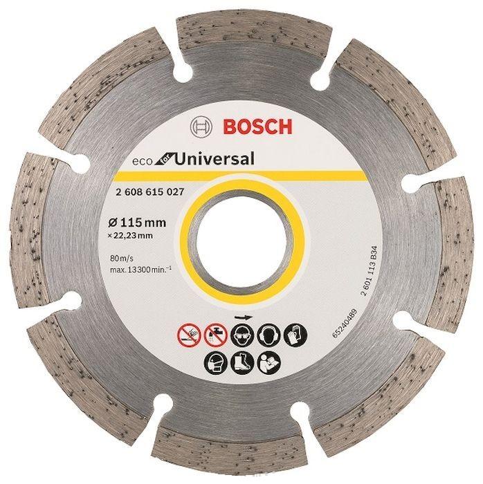 Круг алмазный Bosch Eco universal Ф115-22мм 10шт. (2.608.615.040) соня eco hard eco paradise 80x190x18