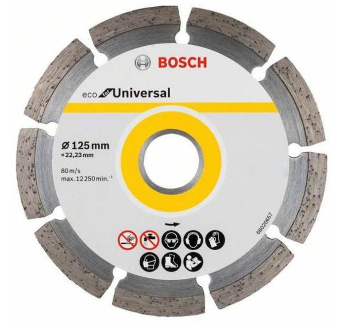 Круг алмазный Bosch Ф150х22мм универсальный (eco universal 10шт. 2.608.615.042)