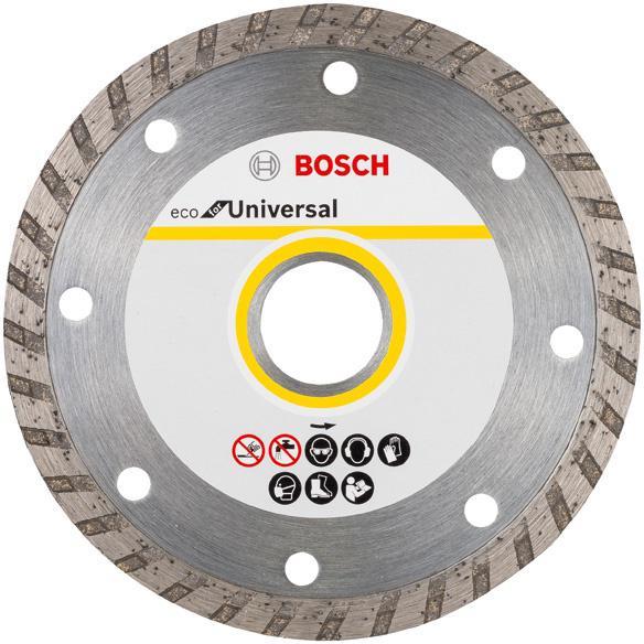 Круг алмазный Bosch Eco universal turbo Ф125-22мм 10шт. (2.608.615.046) saunier duval themaclassic f 25 turbo