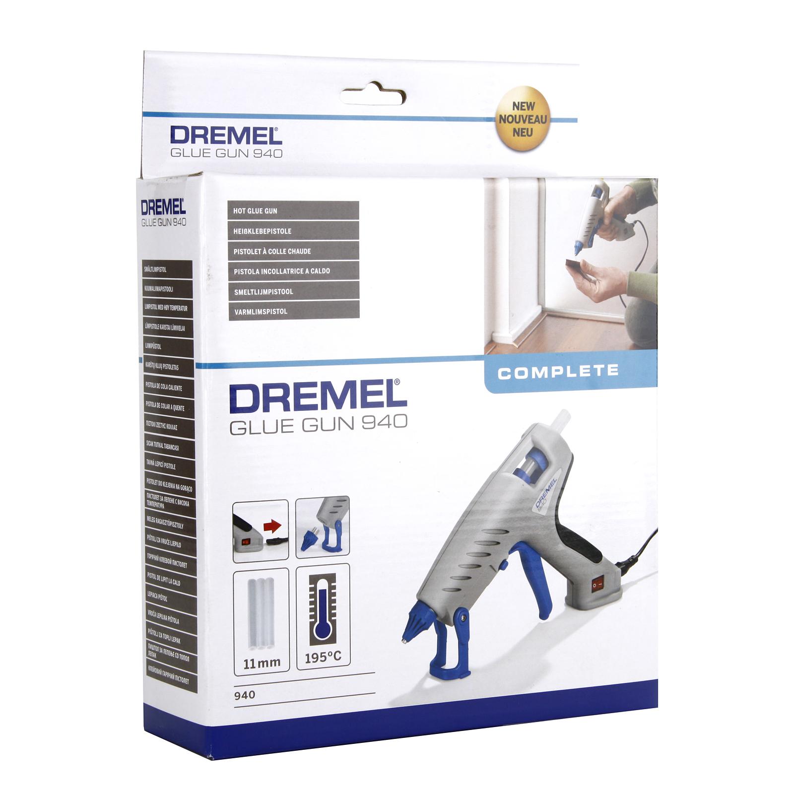 Пистолет клеевой Dremel 940-3