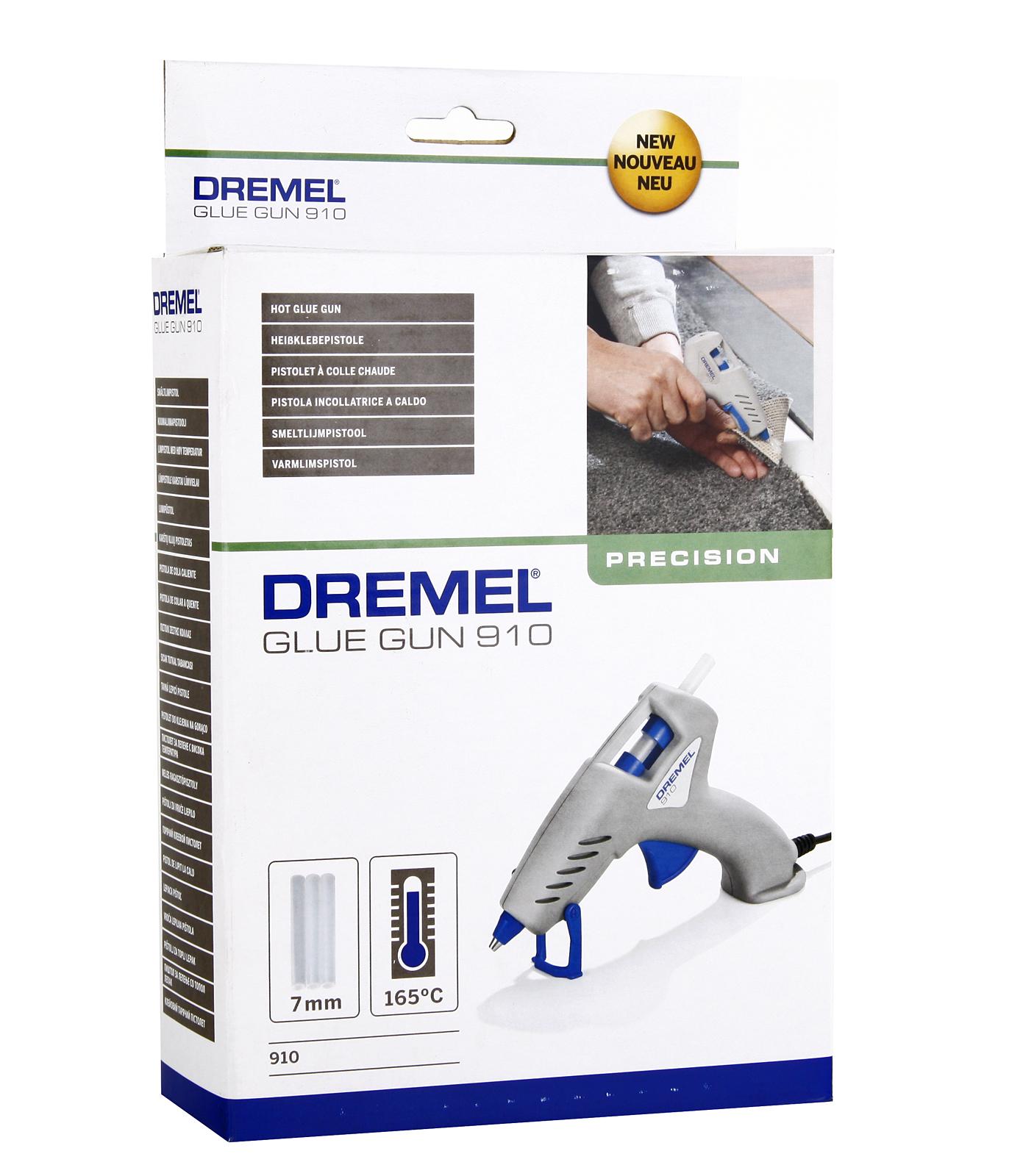 Пистолет клеевой Dremel 910-3