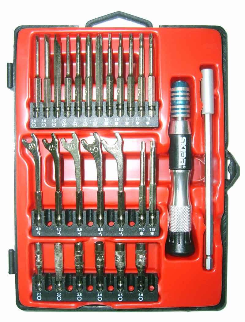 все цены на Отвертка с набором бит для точной механики Skrab 41688 с набором бит для точной механики онлайн