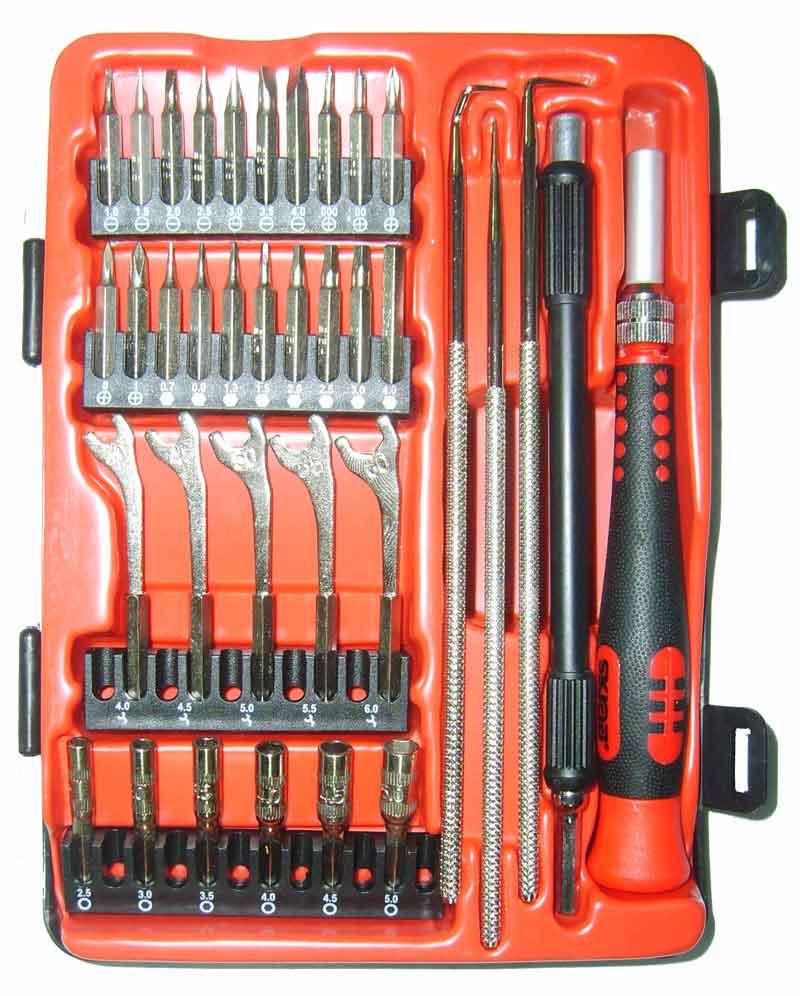 Отвертка  с набором бит для точной механики Skrab 41691 с набором бит для точной механики набор бит skrab 43903