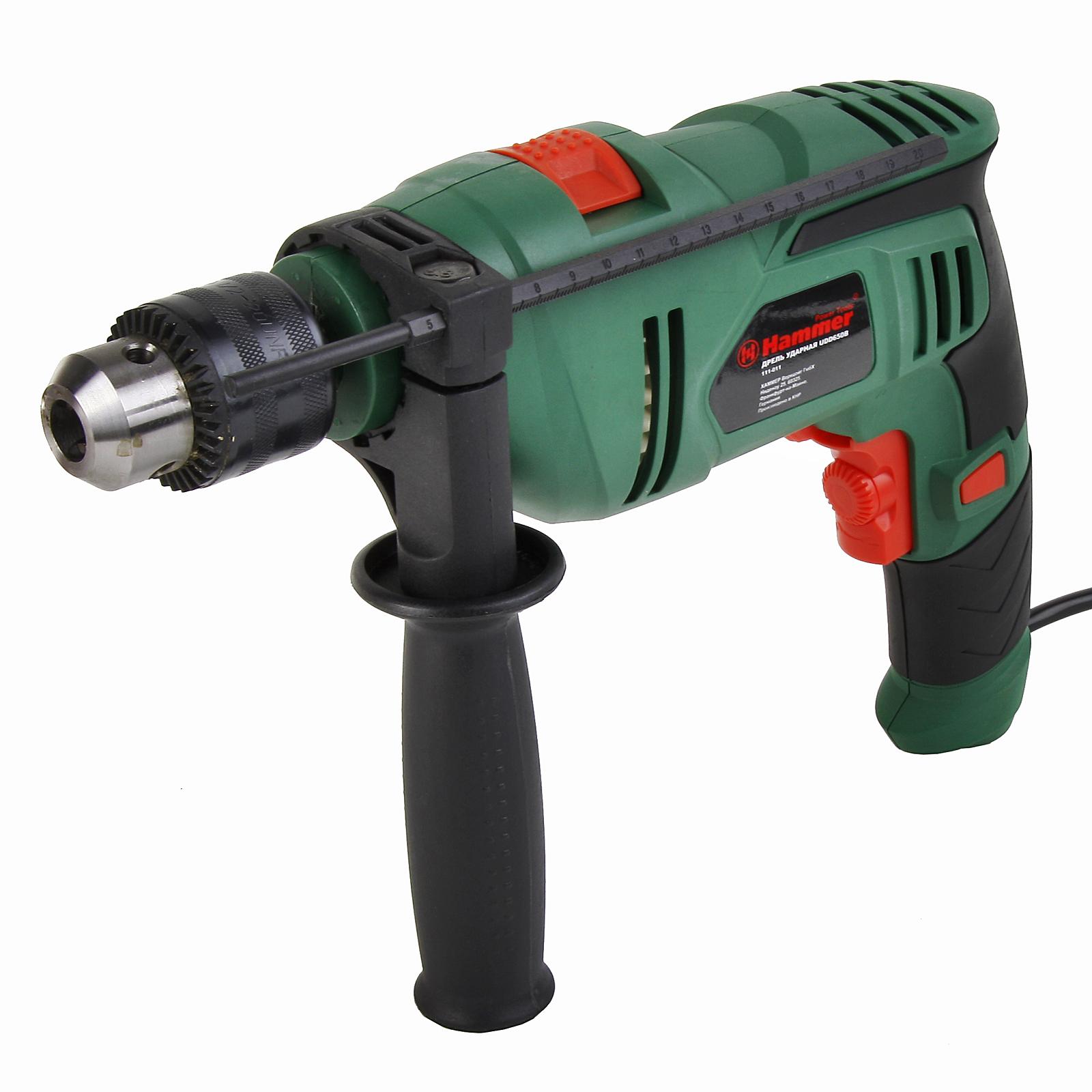 Дрель ударная Hammer Udd650b электроинструмент hammer udd650b