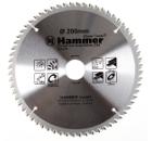 Диск пильный твердосплавный HAMMER 200х30/20мм 64 зуб.