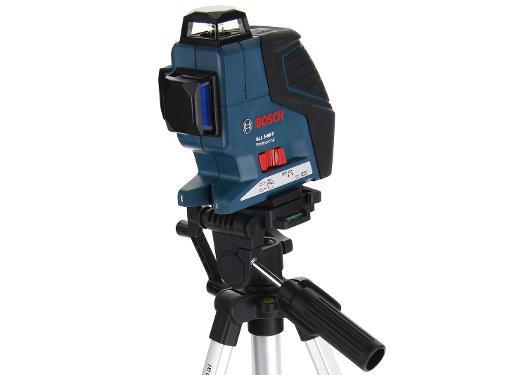 Уровень лазерный BOSCH GLL 3-80 Professional + ШТАТИВ BS150 (0601063306)
