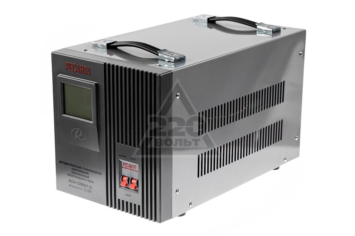 Стабилизатор напряжения 12000 вт ресанта соединители кабельные сварочных аппаратов