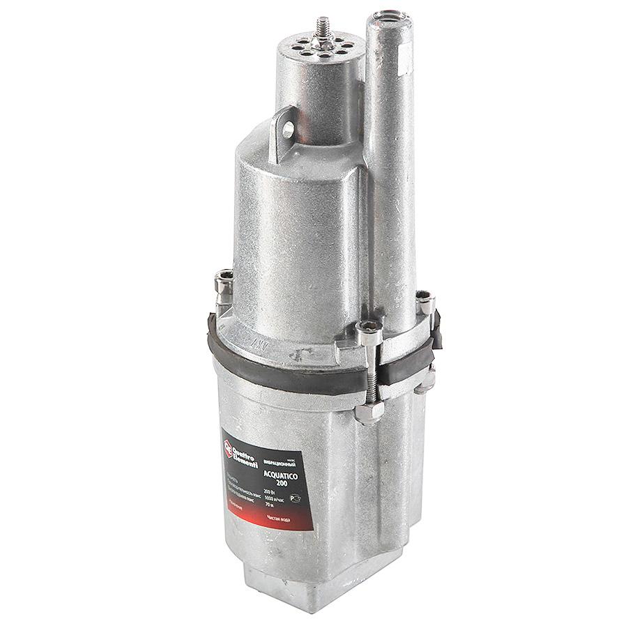 Погружной вибрационный насос Quattro elementi Acquatico 200 (25 м)