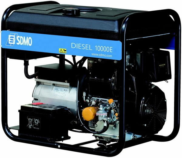 Дизельный генератор Sdmo Diesel 10000 e amf sdmo hx 6000s