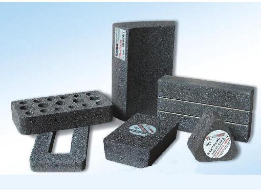 Сегмент шлифовальный ЛУГА-АБРАЗИВ 6С  85 Х 78 Х 50 25А V 40 K,L (40СM)