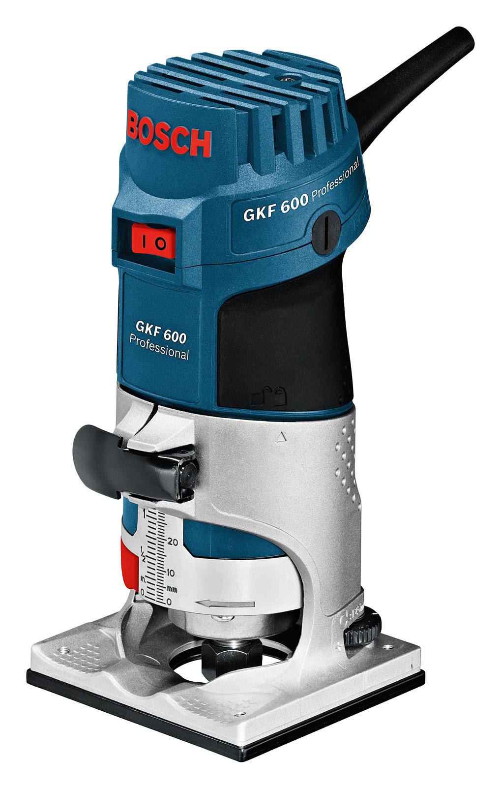 Кромочный фрезер Bosch Gkf 600 (0.601.60a.100) bosch gkf 600 professional 060160a101