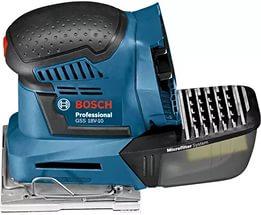Машинка шлифовальная плоская (вибрационная) Bosch Gss 18v-10 соло (0.601.9d0.200) набор bosch дрель аккумуляторная gsb 18 v ec 0 601 9e9 100 адаптер gaa 18v 24