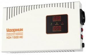 Стабилизатор напряжения УДАРНИК УСН 1500 НС