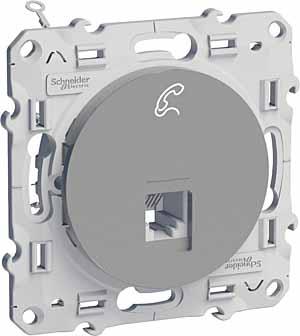 Механизм розетки Schneider electric S53r497 odace