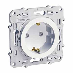 Механизм розетки Schneider electric S52r037 odace
