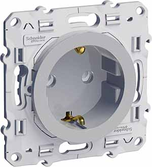 Механизм розетки Schneider electric S53r033 odace