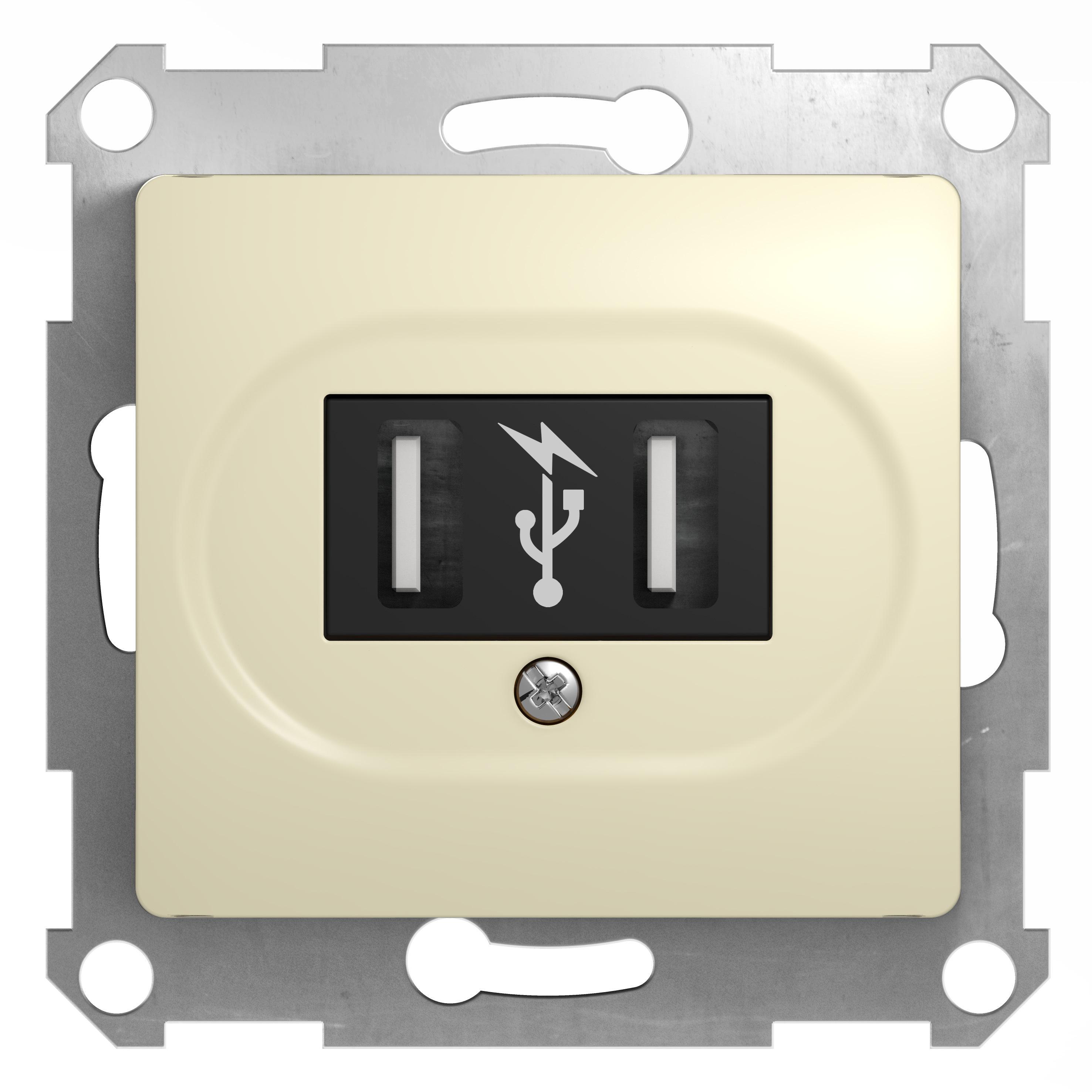 Механизм розетки Schneider electric Gsl000232 glossa механизм розетки компьютерной с у schneider electric unica бежевый