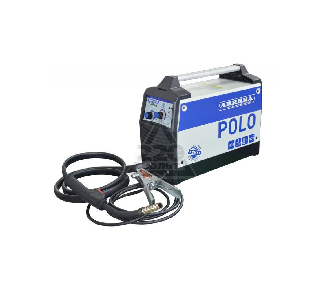 Сварочный полуавтомат AURORA PRO Сварочный синергетический полуавтомат AURORA POLO 160 IGBT 4,9 кВт, 220В, 0.6-0.8 мм, 5,5 кг