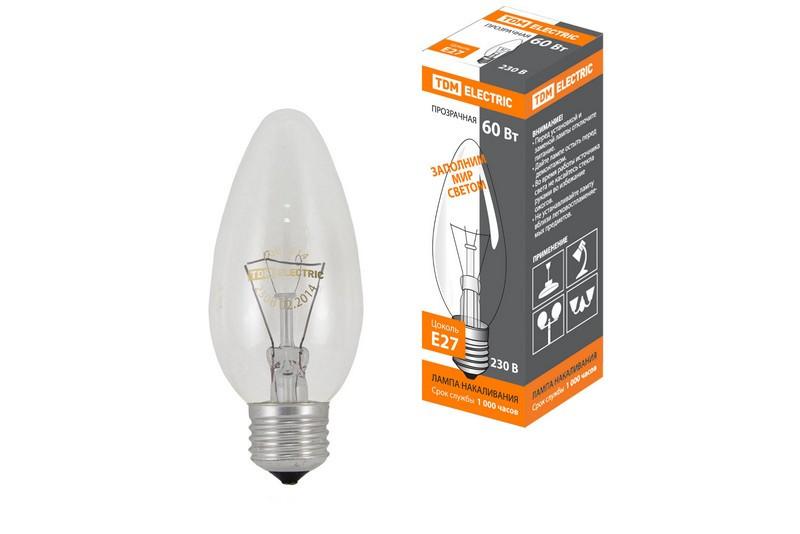 Лампа накаливания Tdm Sq0332-0012
