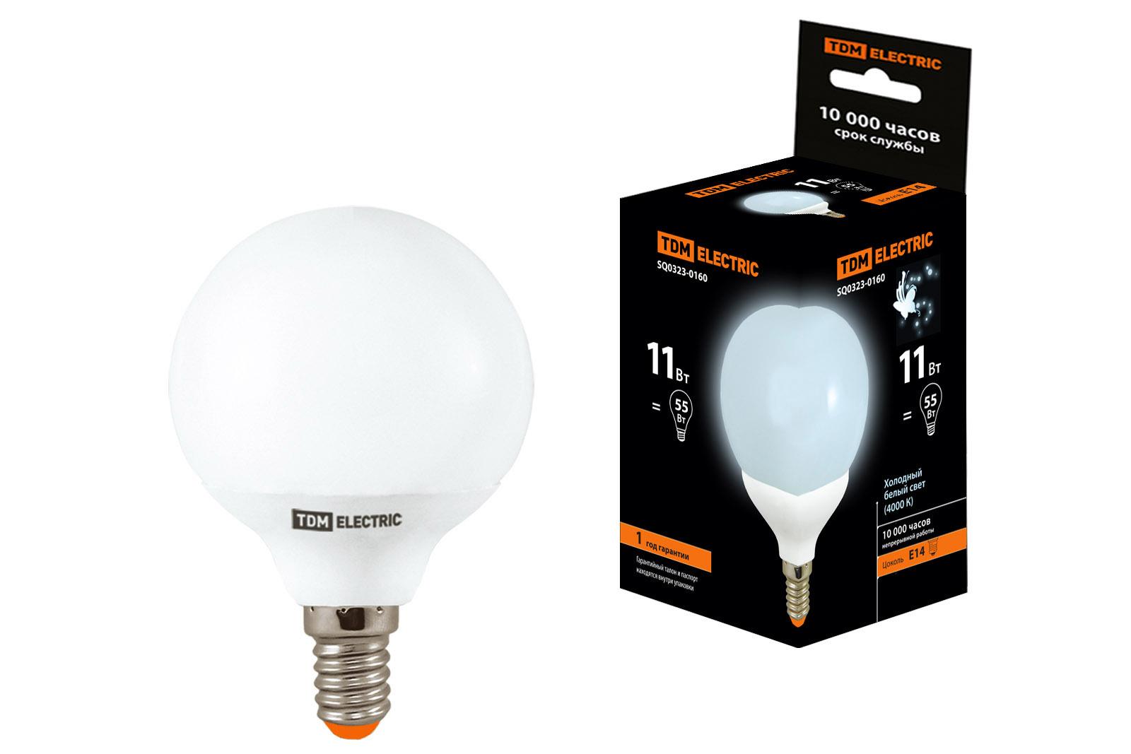 Лампа энергосберегающая Tdm Sq0323-0160