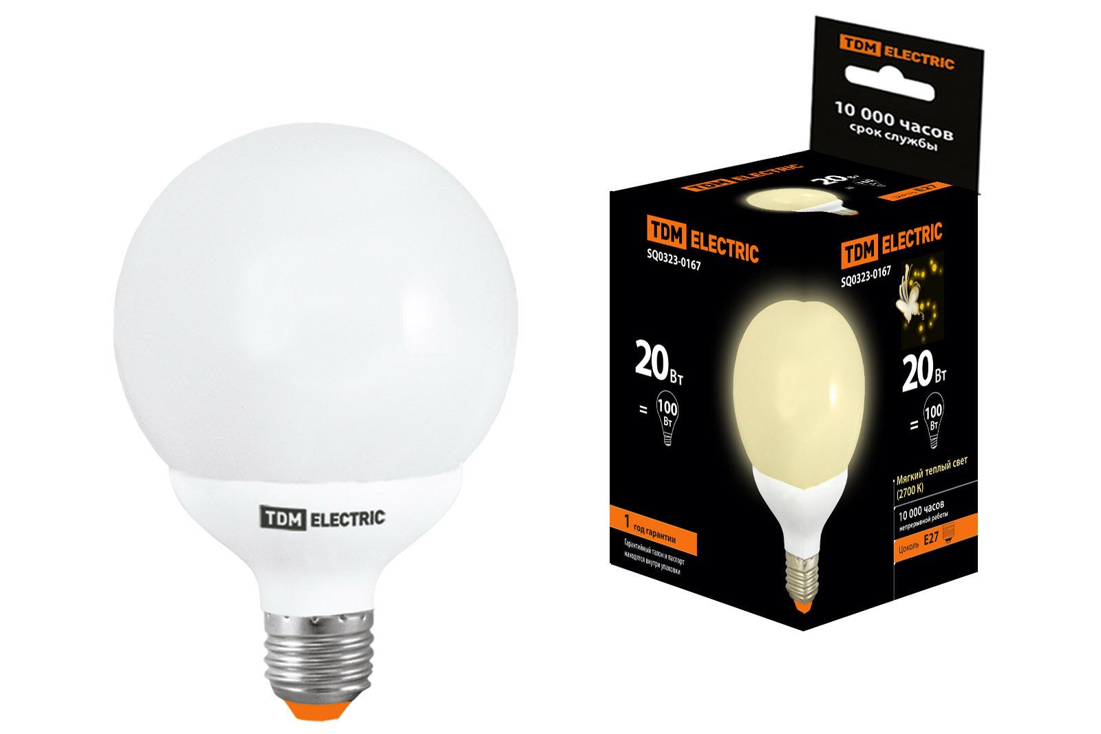 Лампа энергосберегающая Tdm Sq0323-0167