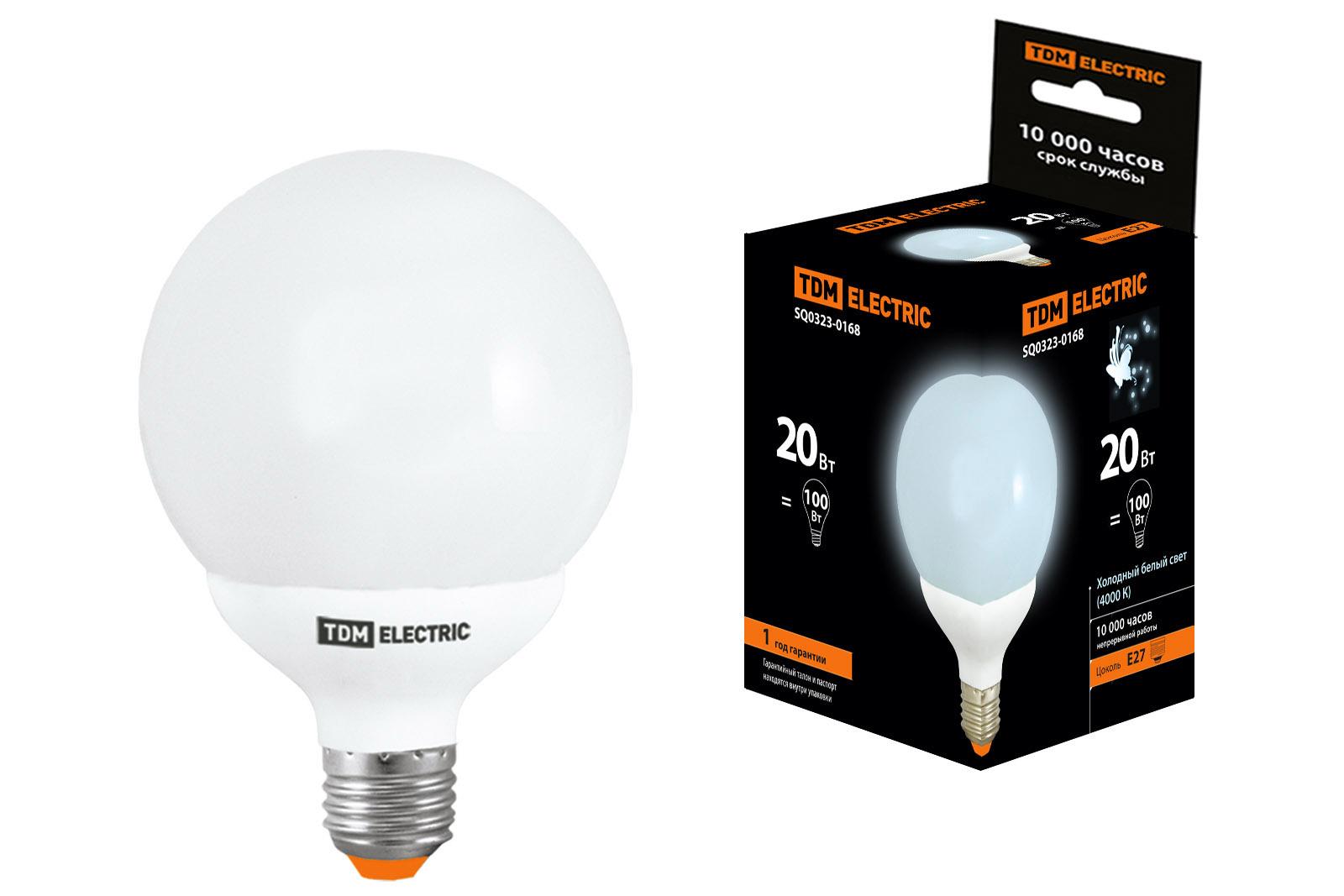 Лампа энергосберегающая Tdm Sq0323-0168