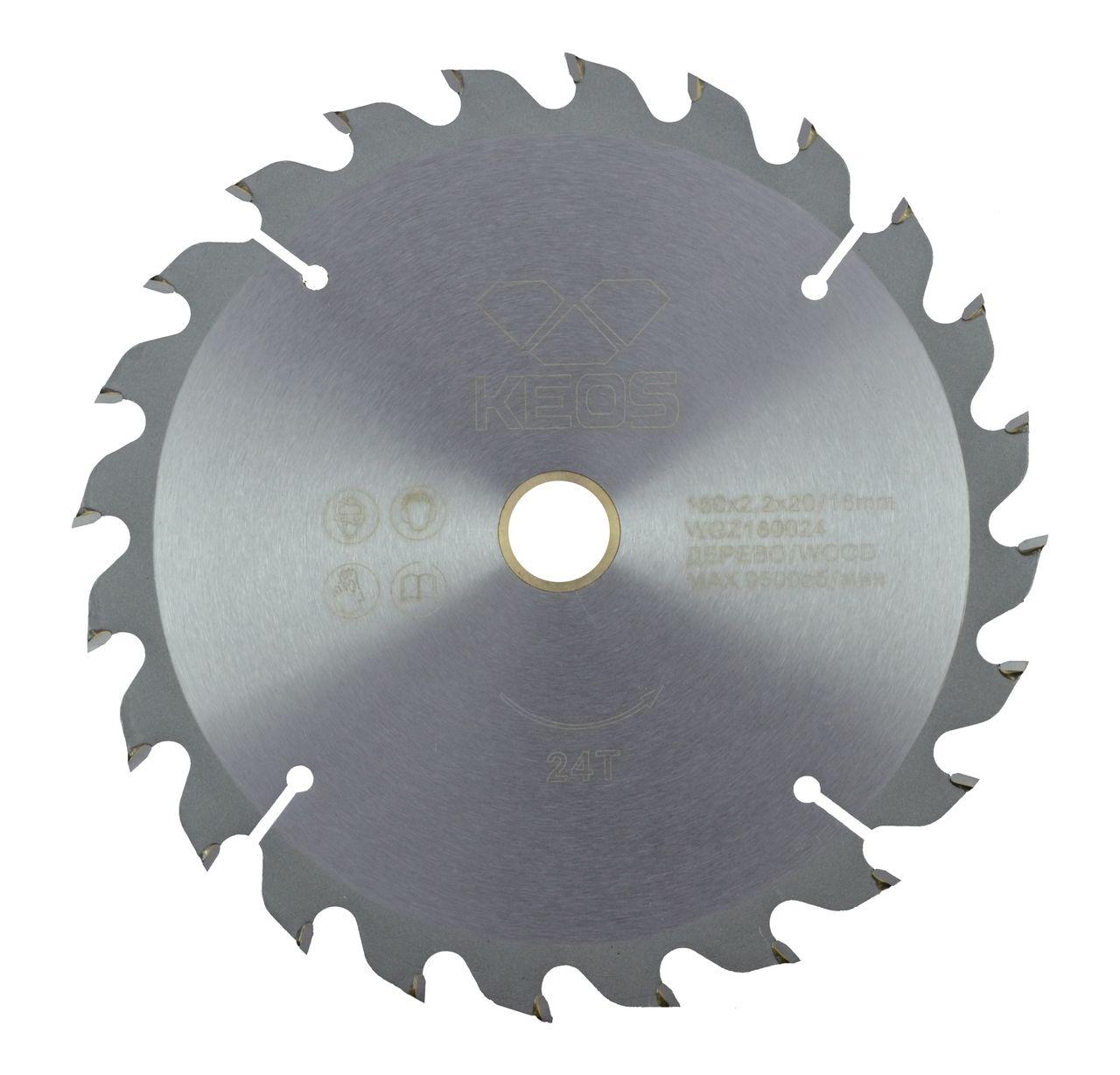 Диск пильный твердосплавный Keos Wb216.64 диск пильный твердосплавный hammer 335х32 30мм 64 зуб