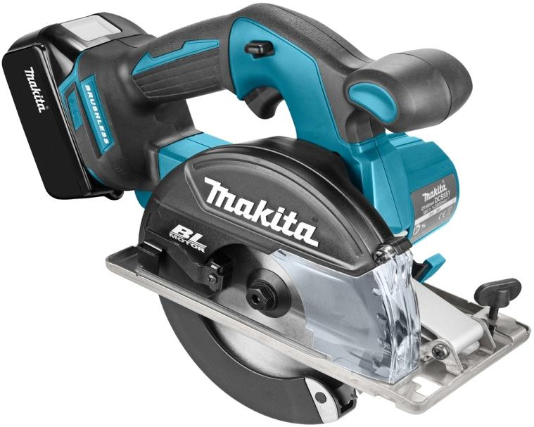 Пила циркулярная Makita Dcs551rmj пила defort dcs 165n