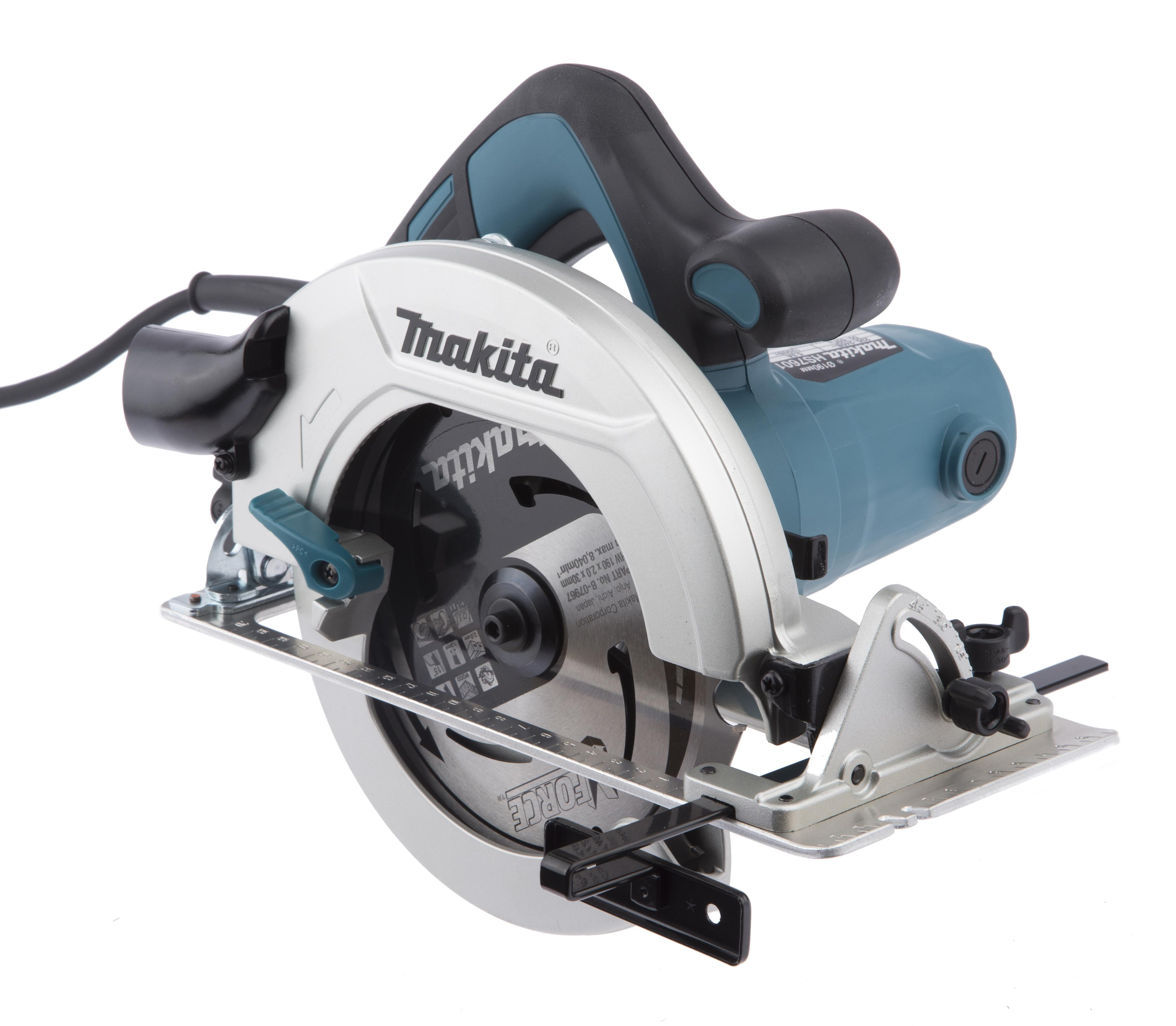 Пила циркулярная Makita Hs7601k циркулярная пила patriot cs186 190301605