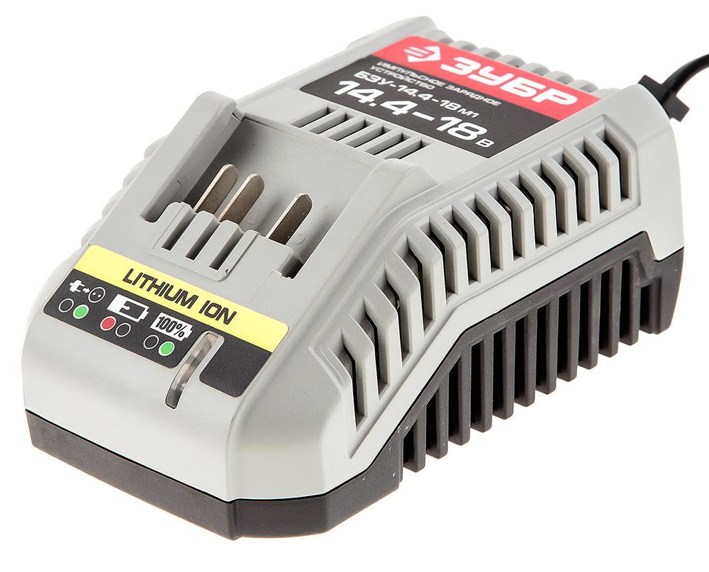 Зарядное устройство ЗУБР БЗУ-14.4-18 М1 зарядное устройство зубр бзу 14 4 18 м4