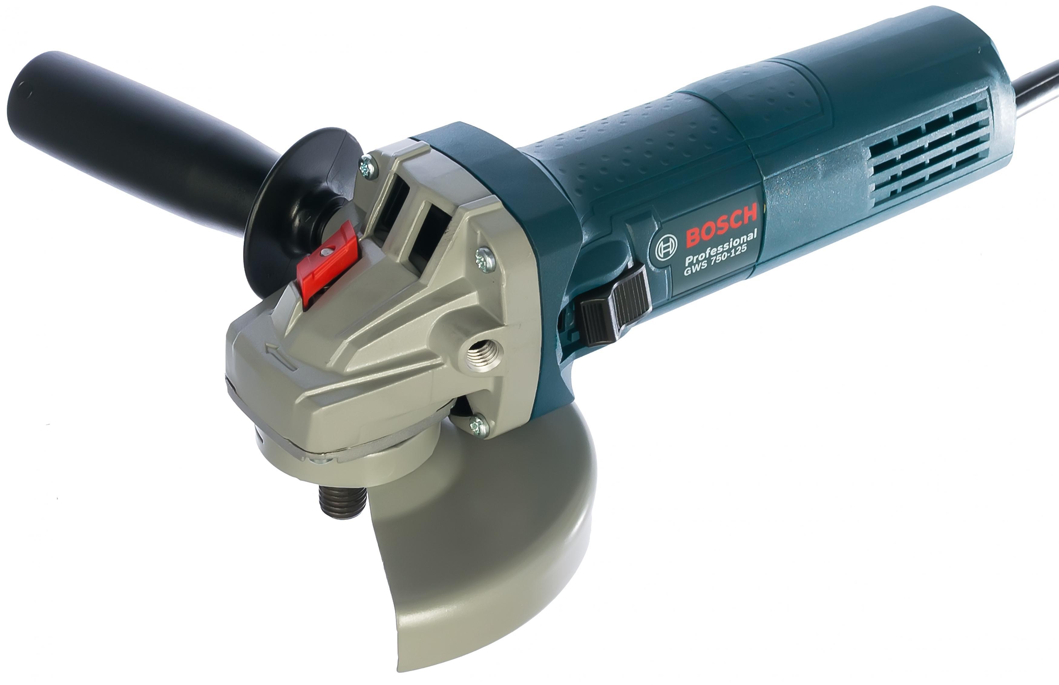УШМ (болгарка) Bosch Gws 750-125 (0.601.394.0r3) болгарка bosch gws 1000