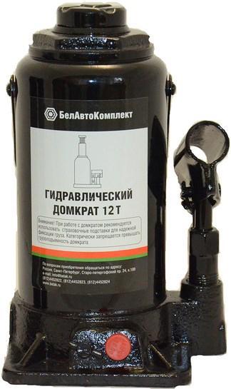 Домкрат БЕЛАВТОКОМПЛЕКТ БАК.00033 домкрат бутылочный белавтокомплект с двумя клапанами 5 т