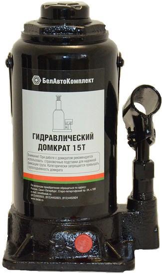 Домкрат БЕЛАВТОКОМПЛЕКТ БАК.00034 домкрат бутылочный белавтокомплект с двумя клапанами 5 т
