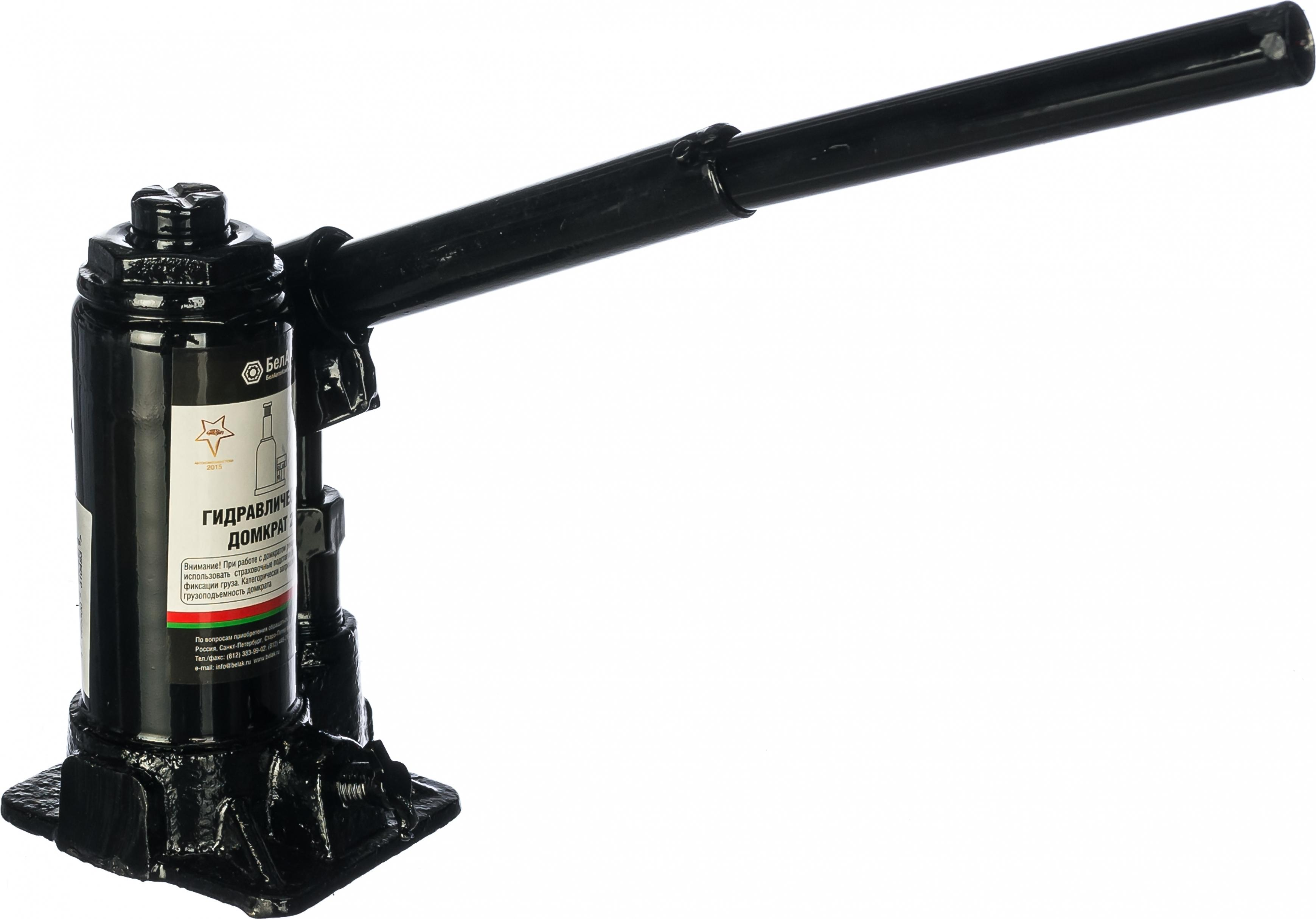 Домкрат БЕЛАВТОКОМПЛЕКТ БАК.00039 домкрат бутылочный белавтокомплект с двумя клапанами 5 т